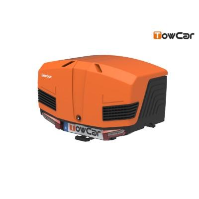 TowCar TowBox V3 oranžový, uzavřený, na tažné zařízení TV3XGJ0