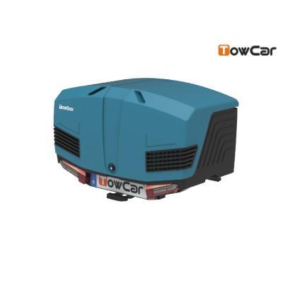 TowCar TowBox V3 modrý, perforovaný, na tažné zařízení TV3DGA0