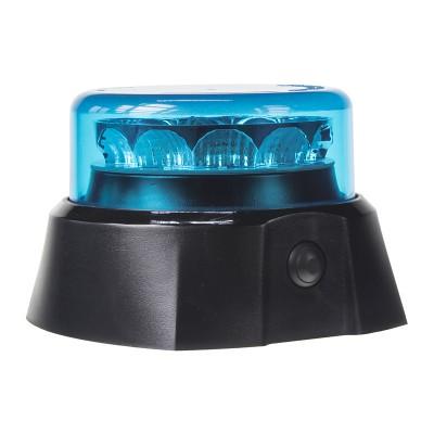 PROFI AKU LED maják 12x3W modrý 125x90mm, ECE R65