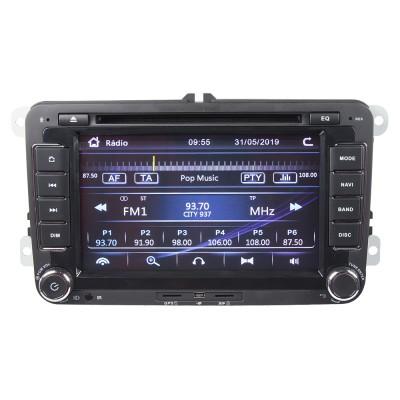 """Autorádio pro VW, Škoda s 7"""" LCD, GPS, multicolor, ČESKÉ MENU"""