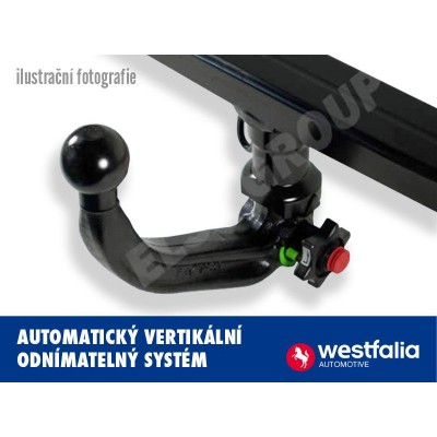 Tažné zařízení BMW X4 2018- (G02) , vertikální, Westfalia W303483
