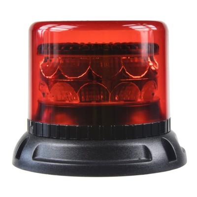 PROFI LED maják 12-24V 24x3W červený 133x86mm, ECE R65