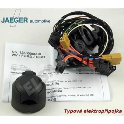 Typová elektropřípojka Jeep Renegade 2014-2018 , 7pin, ConWys AG 12500612