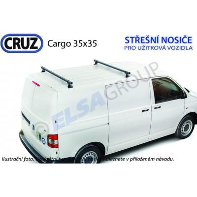 Střešní nosič Citroen Berlingo/ Peugeot Partner CRUZ Cargo (2 příčníky 35x35) 923010+934301