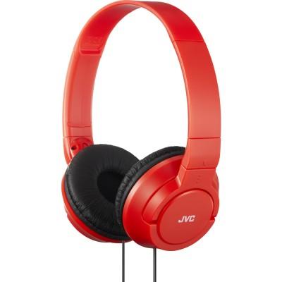 JVC HA-S180-R cestovní skládací uzavřená sluchátka