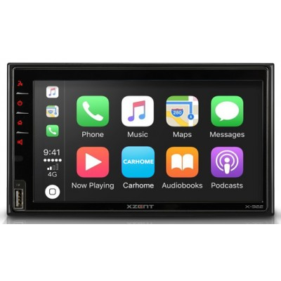 XZENT X-522 2DIN s Apple CarPlay Android Auto