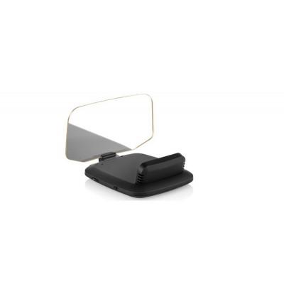 "HEAD UP DISPLEJ 4"" / TFT LCD, OBDII + GPS, reflexní deska"