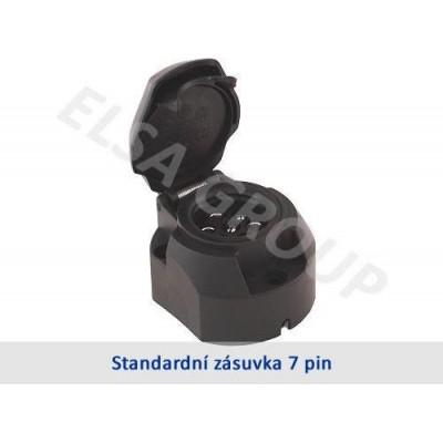 Zásuvka 7+1pin (DIN)