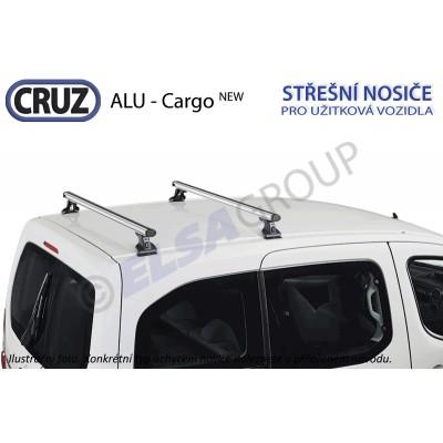 Střešní nosič Ford Transit Custom / Tourneo Custom (2 příčníky), CRUZ ALU Cargo