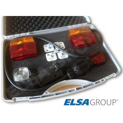 Tester zapojení EP kufříkový 7pin+13pin / 12V se zátěží, také pro CAN-BUS/ CC
