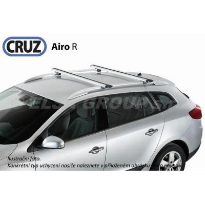 Střešní nosič Nissan Qashqai +2 (7 míst) s podélníky, CRUZ Airo ALU