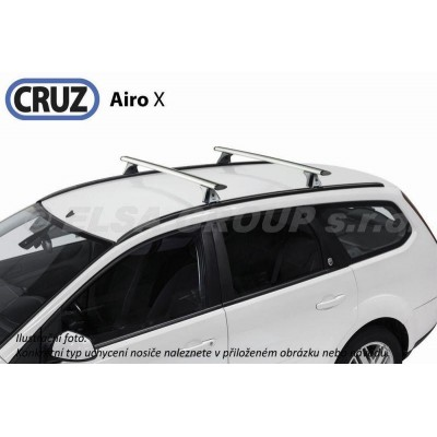 Střešní nosič Opel Signum kombi (s integrovanými podélníky), CRUZ Airo ALU
