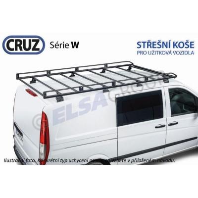 Střešní koš VW Transporter T5/T6 (krátký/nízká střecha) / Multivan s T-drážkou, CRUZ