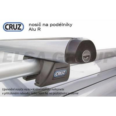 Střešní nosič Opel Frontera 5dv. s podélníky, CRUZ ALU