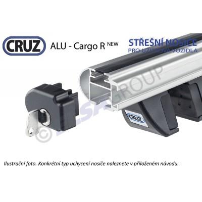 Střešní nosič Peugeot Partner s podélníky, CRUZ ALU