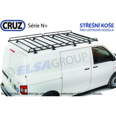 Střešní koš Seat Inca / VW Caddy, CRUZ