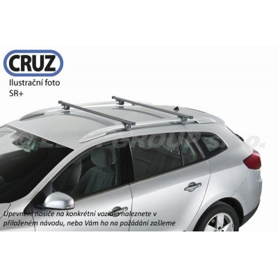 Střešní nosič Subaru Impreza WRX 5dv. na podélníky, CRUZ