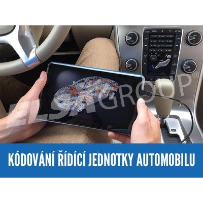 Služba - Kódování řídící jednotky automobilů VW Group off-line