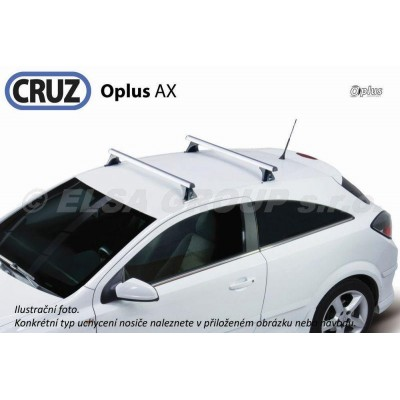 Střešní nosič Opel Astra H 4dv., CRUZ ALU