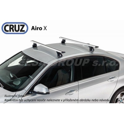 Střešní nosič BMW 2-řada Active Tourer / Grand Tourer (F45/F46) (s integrovanými podélníky), CRUZ Airo ALU