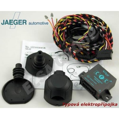 Typová elektropřípojka VW Golf HB 2014- (VII), 7pin, Jaeger Automotive