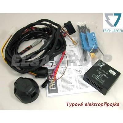 Typová elektropřípojka Mercedes Benz E Coupé 2009- (C207), 13pin, Erich Jaeger