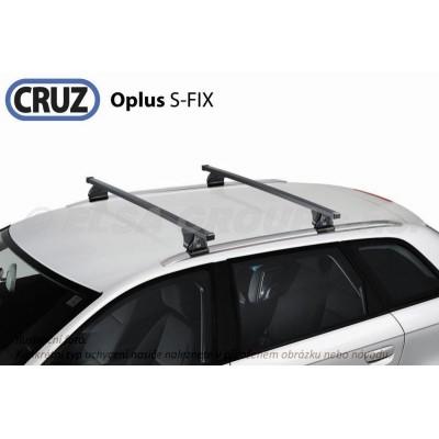 Střešní nosič BMW X1 (E84, integrované podélníky), CRUZ S-Fix