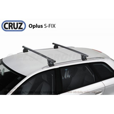 Střešní nosič Mercedes C kombi (S205, integrované podélníky), CRUZ S-FIX