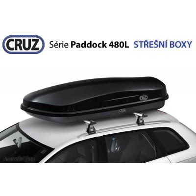 Střešní box CRUZ Paddock 480N, lesklá černá