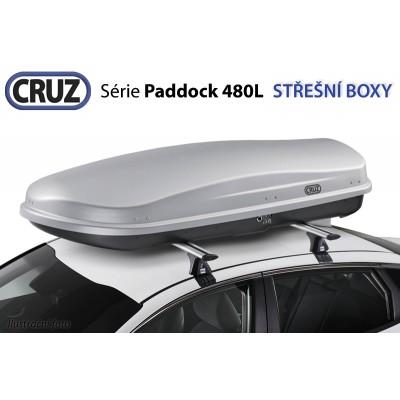Střešní box CRUZ Paddock 480GM, matná šedá