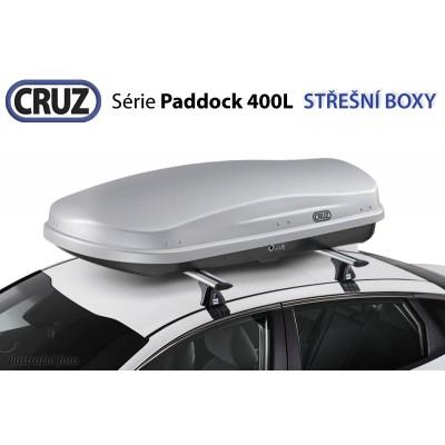 Střešní box CRUZ Paddock 400GM, matná šedá