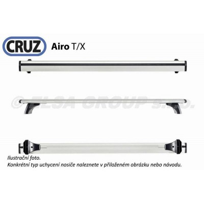 Sada příčníků CRUZ Airo Dark X118 (2ks)