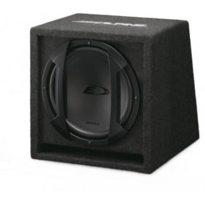 ALPINE Subwoofer instalovaný v boxu s bassreflexovou ozvučnicí SBE-1244BR