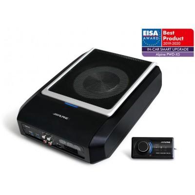 ALPINE 4.1 Procesor digitálního zvuku (DSP) s výkonným subwooferem PWD-X5