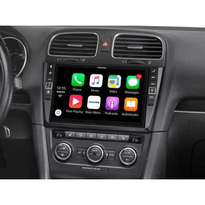 ALPINE Mobilní Mediální Stanice pro Volkswagen Golf 6 i902D-G6