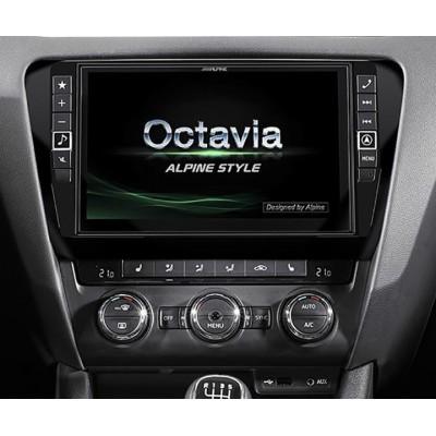 ALPINE Navigační systém pro Škoda Octavia 3 X901D-OC3