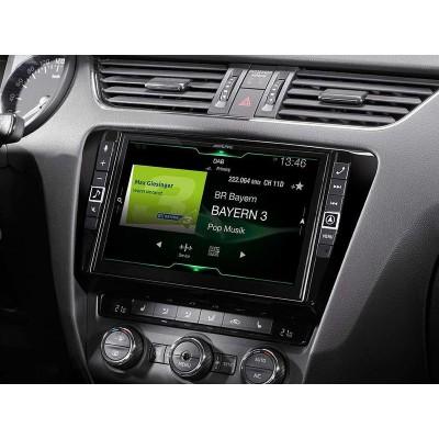 ALPINE Pokročilá Navigační stanice pro vůz Škoda Octavia X903D-OC3