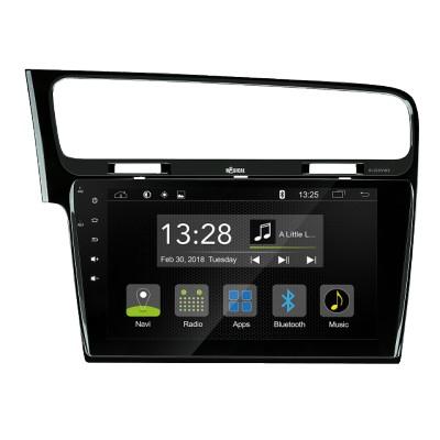 RADICAL R-C10VW2 VW GOLF7 autorádio, DAB+, FM, bluetooth, USB, SD