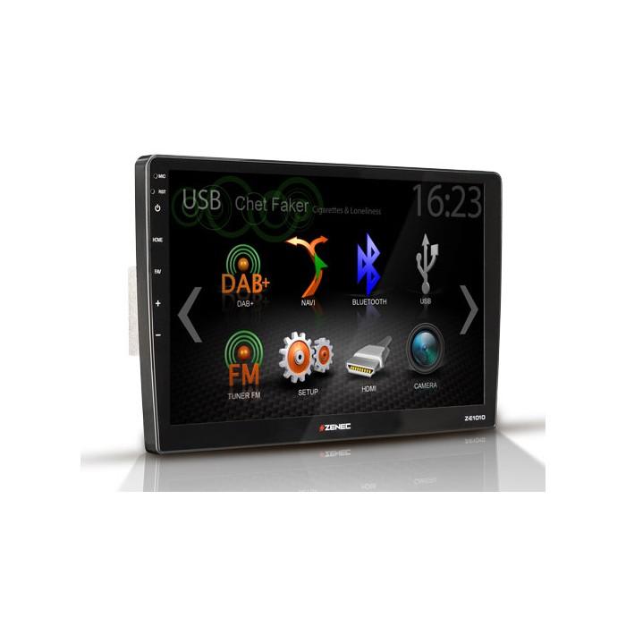 ZENEC Z-E1010 – multimediální rádio pro VW a Škoda