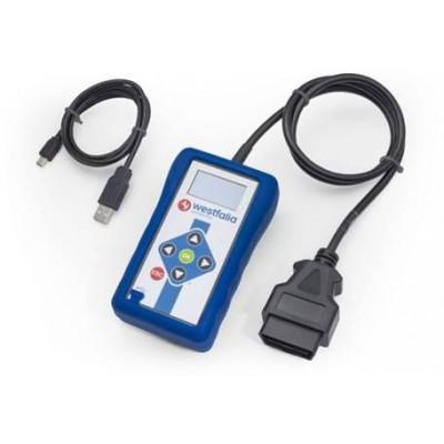 Westfalia AutoCode Mini, diagnostika pro kódování tažných zařízení