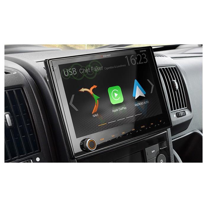 ZENEC Z-E3766 multimediální rádio s GPS Fiat Ducato Caravan