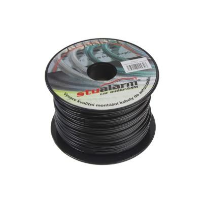 Kabel 1 mm, černý, 100 m bal