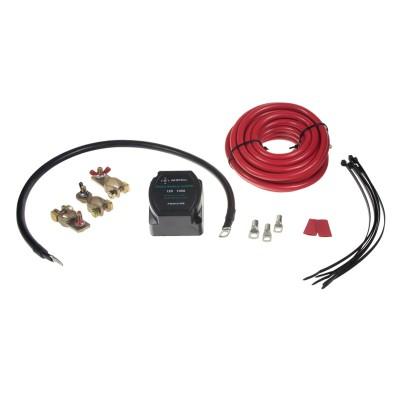 Sada pro automatické dobíjení druhé baterie 12V/140A