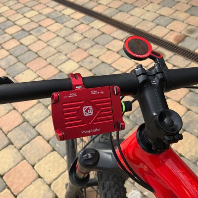 Univerzální držák pro telefony na kolo, motocykl