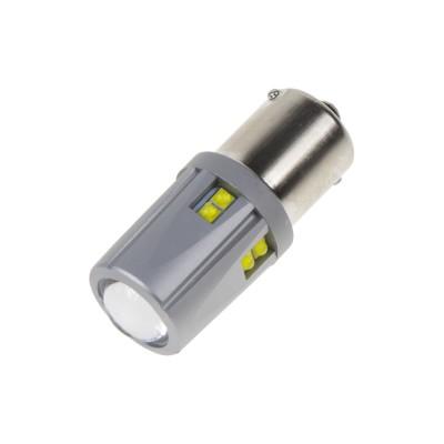 LED BA15S 12-24V, 60W (12x5W) bílá