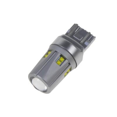 CREE LED T20 (7443) bílá, 12-24V, 60W (12x5W)