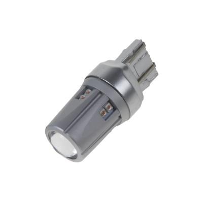 CREE LED T20 (7443) oranžová, 12-24V, 60W (12x5W)