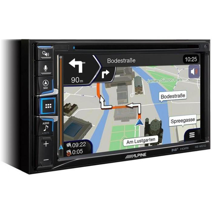 ALPINE Mobilní mediální stanice INE-W611DC