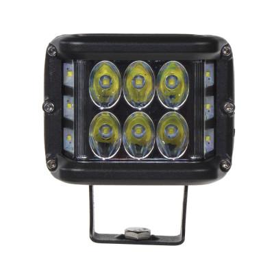 LED světlo hranaté, 6x5W + 6x3W , ECE R10, 180°