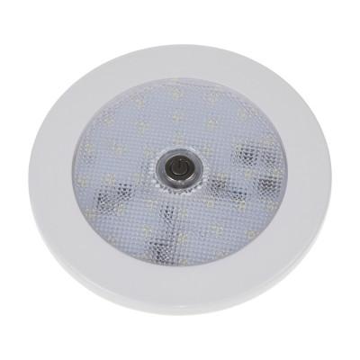 LED osvětlení interiéru, 10-30V, 35LED, vypínač, ECE R10